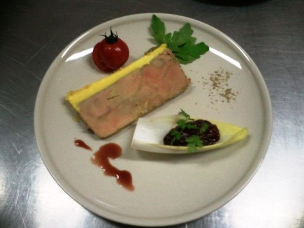 Cuisine traditionnelle a emporter for Decoration assiette foie gras